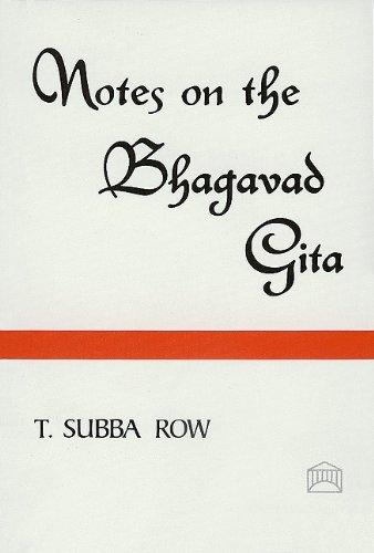 9780911500820: Notes on the Bhagavad Gita