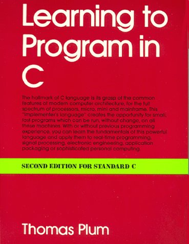 9780911537086: Learning to Program in C
