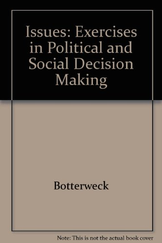 9780911541182: Issues: Exercises in Political and Social Decision Making