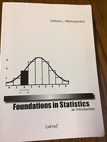 9780911550986: Foundations in Statistics: An Introduction
