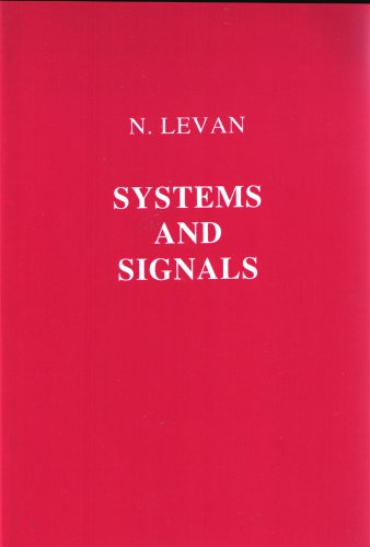 9780911575637: Systems and Signals (University Series in Modern Engineering)
