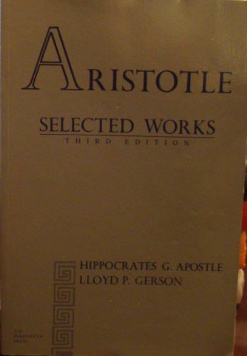 Aristotle Selected Works: Aristotle, H. G.