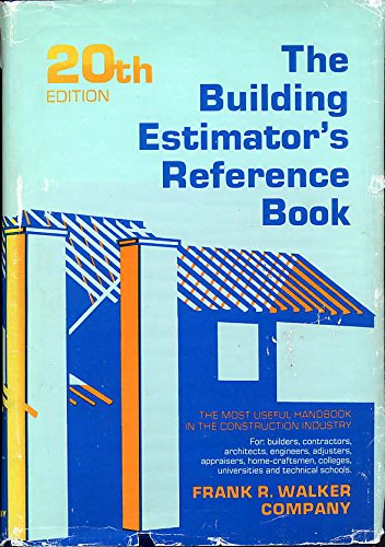Building Estimators Reference Book 20ED: Shoemaker, Morrell
