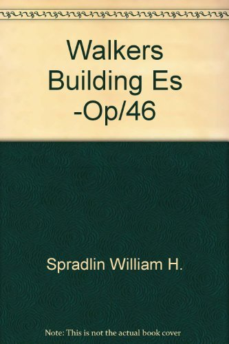 9780911592214: Walkers Building Estmators Ref 21ED