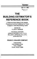 9780911592245: Walker's Building Estimator's Reference Book (24th Edition)
