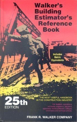 9780911592252: Frank R. Walker's Building Estimator's Reference Book