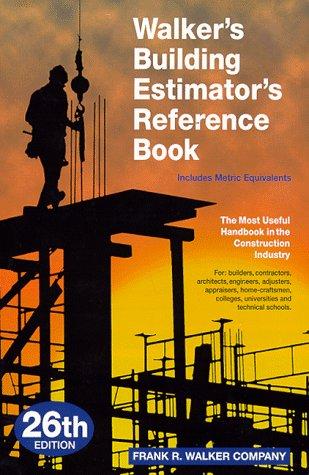 Walker's Building Estimator's Reference Book: Co., Frank R.