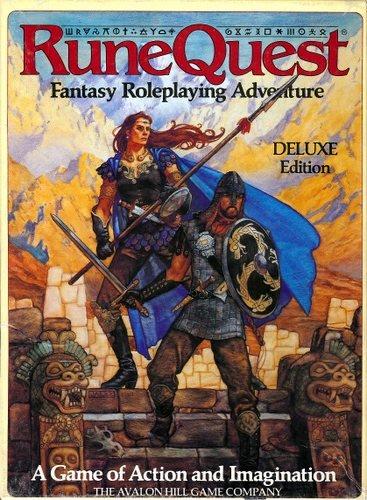 9780911605518: Runequest: Deluxe