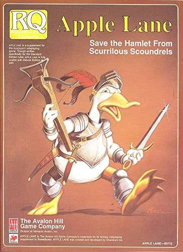 Apple Lane: Save the Hamlet from Scurrilous Scoundrels (Runequest RPG) (0911605614) by Greg Stafford
