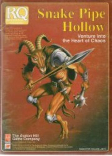 9780911605624: Snake Pipe Hollow: Venture into the Heart of Chaos (Runequest RPG)