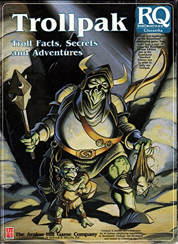 9780911605792: Trollpak: Troll Facts, Secrets and Adventures (Runequest)