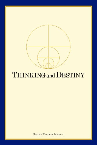 9780911650068: Thinking and Destiny