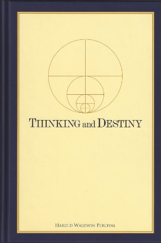9780911650099: Thinking and Destiny