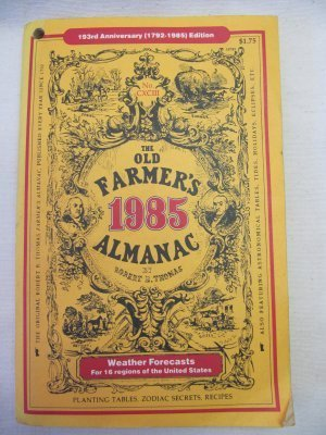 9780911658347: The Old Farmer's Almanac 1985 Special Edition