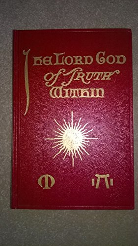 Lord God of Truth Within: A Posthumous: M