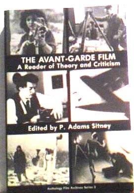 9780911689082: The Avant-Garde Film: A Reader of Theory and Criticism (Anthology Film Archives Series, No. 3)