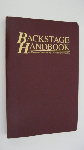9780911747140: Title: Backstage Handbook An Illustrated Handbook of Tech