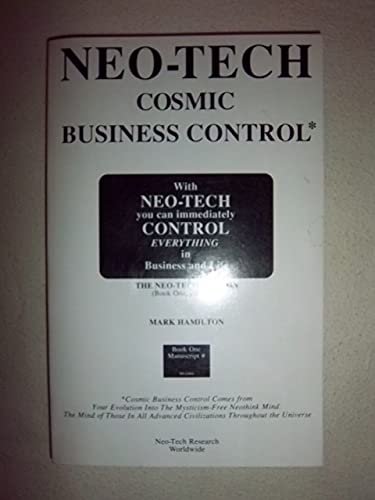 Neo-Tech - Comsic Business Control: With Neo-Tech You Can Immediately Control Everything In Busin...