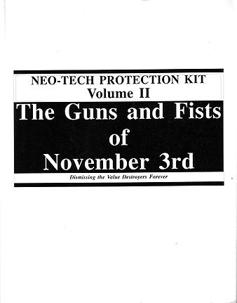 9780911752656: Neo-tech Protection Kit Vol 2: The Guns & Fists of November 3rd