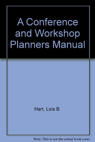 9780911777123: A Conference and Workshop Planners Manual