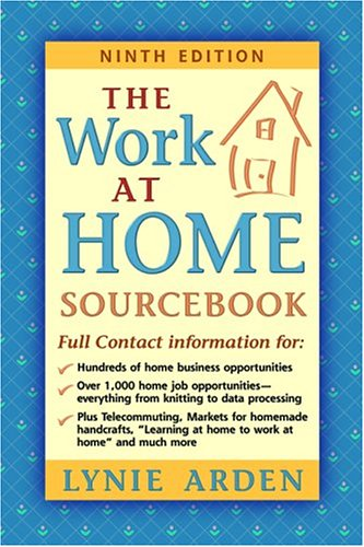 9780911781199: The Work-At-Home Sourcebook