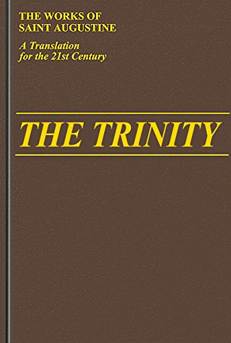 9780911782899: Trinity (Works of Saint Augustine: A Translation for the 21st Century)