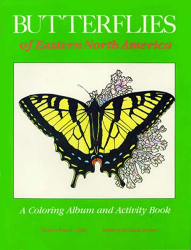 Butterflies of Eastern North America: A Coloring: Strawn, Susan