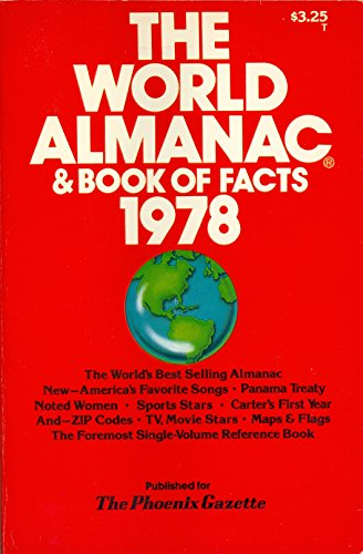 9780911818086: The World Almanac & Book of Facts 1978