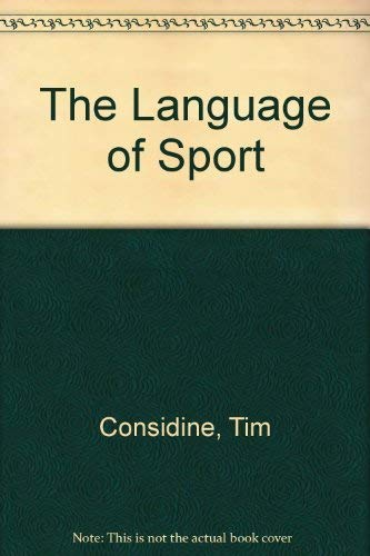 9780911818253: The Language of Sport