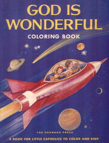 God is Wonderful Catholic Coloring Book: Sister Mary St. Paul of Marknoll