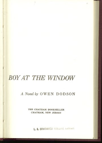 Boy at the Window: Owen Dodson