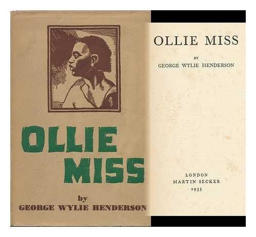 Ollie Miss. Block By Lowell Leroy Balcolm: Henderson, George Wylie