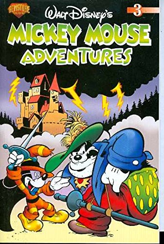 Mickey Mouse Adventures Volume 3 (0911903909) by John Clark