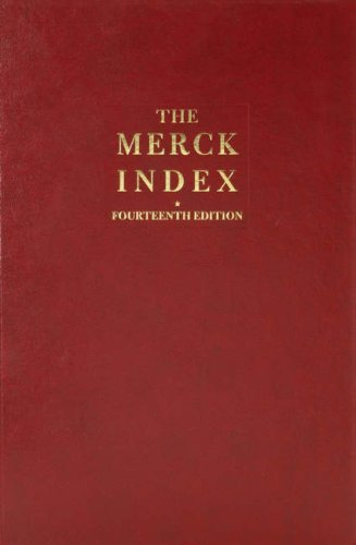 9780911910001: The Merck Index: An Encyclopaedia of Chemicals, Drugs and Biologicals, 14e