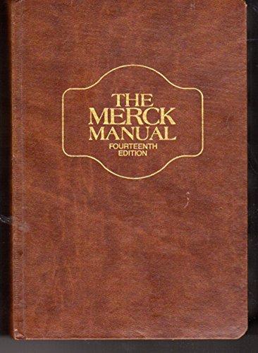 robert berkow the merck manual of diagnosis and therapy abebooks rh abebooks co uk Merck Veterinary Manual Merck Manual Notes
