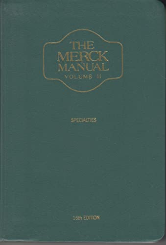 002: The Merck Manual of Diagnosis and: Merck