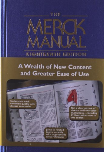 9780911910186: The Merck Manual of Diagnosis and Therapy, 18e