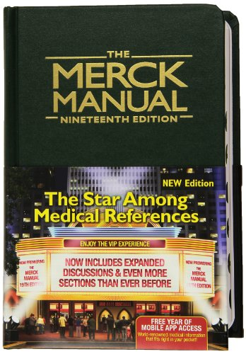 9780911910193: The Merck Manual of Diagnosis and Therapy, 19e