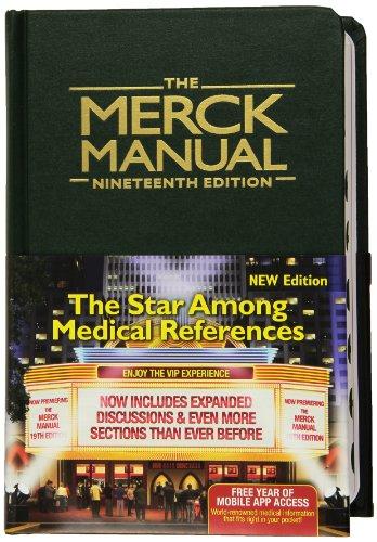 9780911910193: The Merck Manual