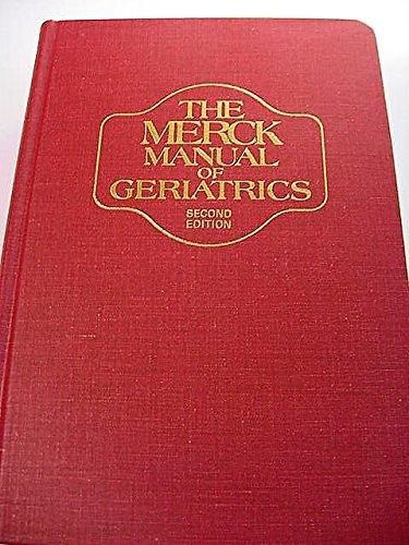9780911910667: Merck Manual of Geriatrics