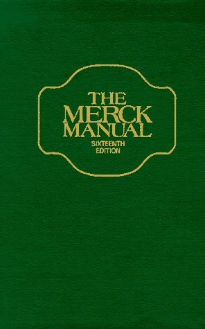 9780911910827: The Merck Manual 16th Edition