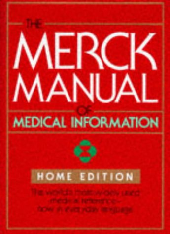 9780911910872: The Merck Manual of Medical Information: Home Edition