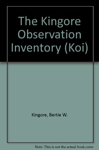 9780911943214: The Kingore Observation Inventory (Koi)