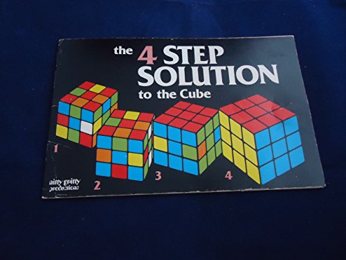 9780911954661: The 4 step solution to the cube