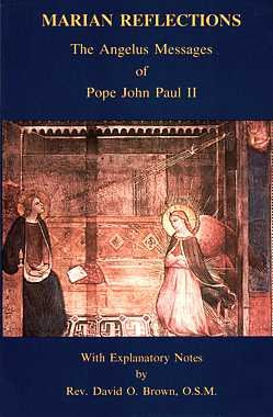 9780911988963: Marian Reflections: The Angelus Messages of Pope John Paul II