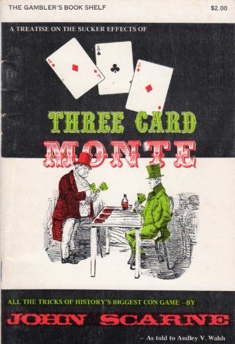 9780911996050: John Scarne explains why you can't win: A treatise on three card monte and its sucker effects (The Gambler's book shelf)