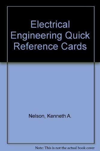 9780912045214: Electrical Engineering Quick Reference Cards (Engineering reference manual series)