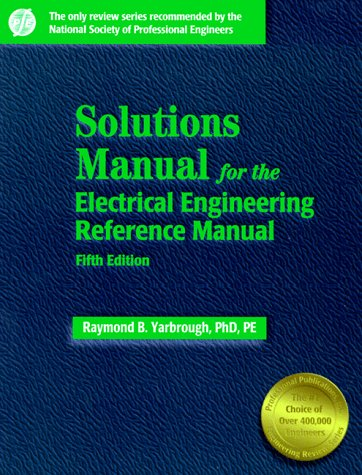 9780912045283: Solutions Manual: For the Electrical Engineering Reference Manual