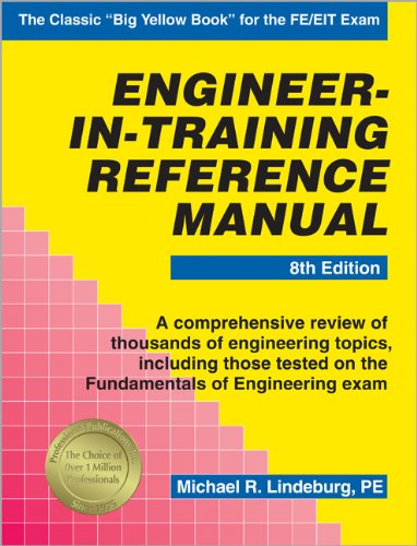 Engineer-In-Training Reference Manual: Michael R. Lindeburg