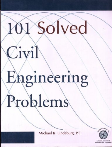 9780912045641: 101 Solved Civil Engineering Problems (Engineering Reference Manual Series)